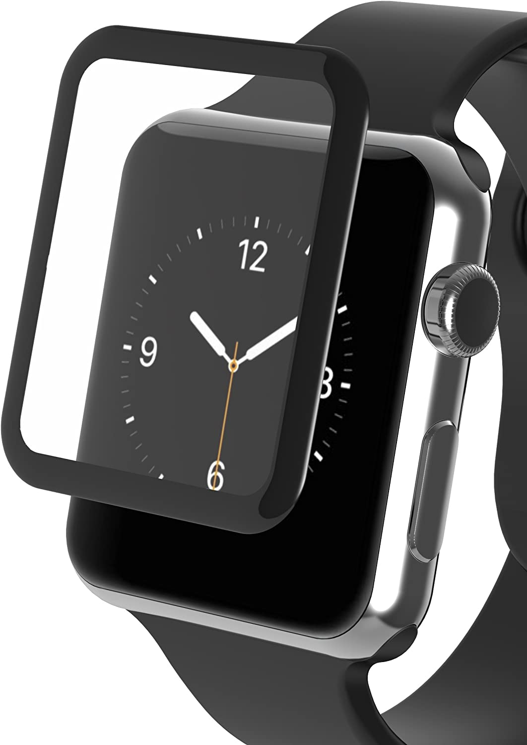 ZAGG InvisibleShield Luxe Screen Protector for Apple Watch Series 1 (38mm) - Black