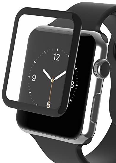 premium selection fefb9 df351 ZAGG InvisibleShield Luxe Screen Protector for Apple Watch Series 2 (42mm)  - Black