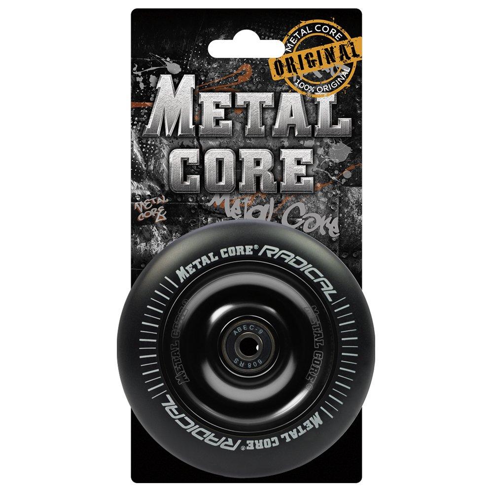 Negro Talla /Única Metal Core Radical Ruedas Scooter