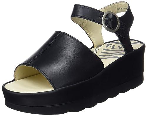 f71b76f4f89f Fly London Women s s Bano971fly Open Toe Sandals  Amazon.co.uk ...