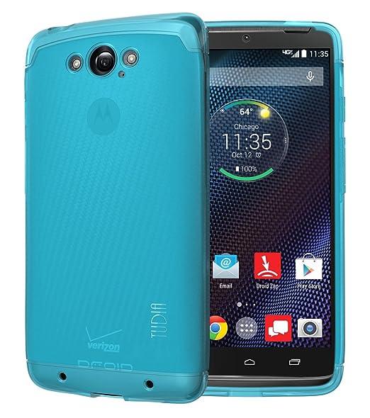 TUDIA LITE TPU Bumper Protective Case for Motorola DROID Turbo Ballistic Nylon Version Only (NOT