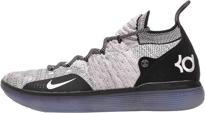 Nike Mens KD 11 Black/White/Racer Blue