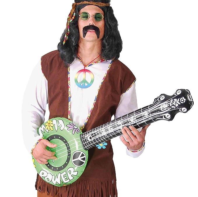 Bajo, Banjo o Banyo hinchable de 83 cm: Amazon.es: Juguetes y juegos