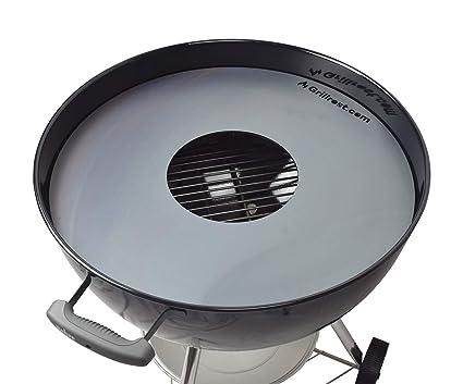 Weber Elektrogrill Geht Nicht An : Feuerplatte grillring grillplatte plancha passend für