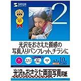 サンワサプライ インクジェット用両面写真用紙(半光沢A3サイズ) 10シート JP-EK4RVA3N