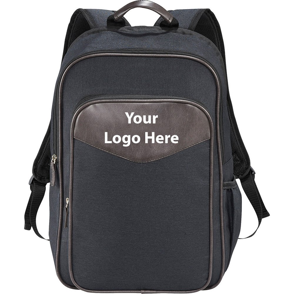 Capitol 15'' Computer Backpack - 24 Quantity - $23.00 Each - PROMOTIONAL PRODUCT / BULK / BRANDED with YOUR LOGO / CUSTOMIZED