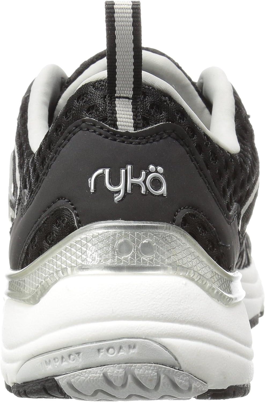 RYKA Damen Hydro Sport Cross Trainer, Wasserschuh Schwarz Silber