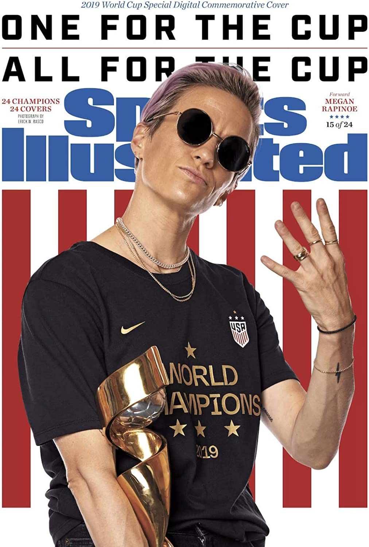 PosterWarehouse2017 13x17 Cover Poster Megan Rapinoe Sports Illustrated
