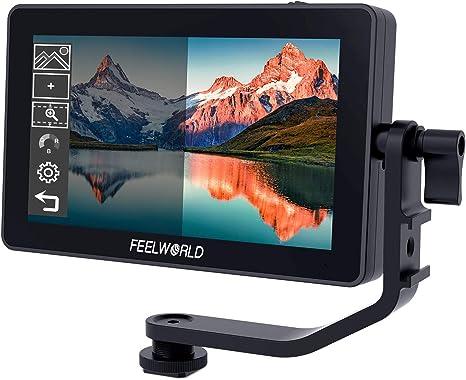 Feelworld F6 Plus 5.5 Pulgadas Monitor DSLR Tactil, Monitor de ...
