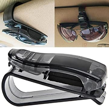 Auto Car Sun Visor Glasses Clip Card Ticket Holder Mount Storage For Sunglasses