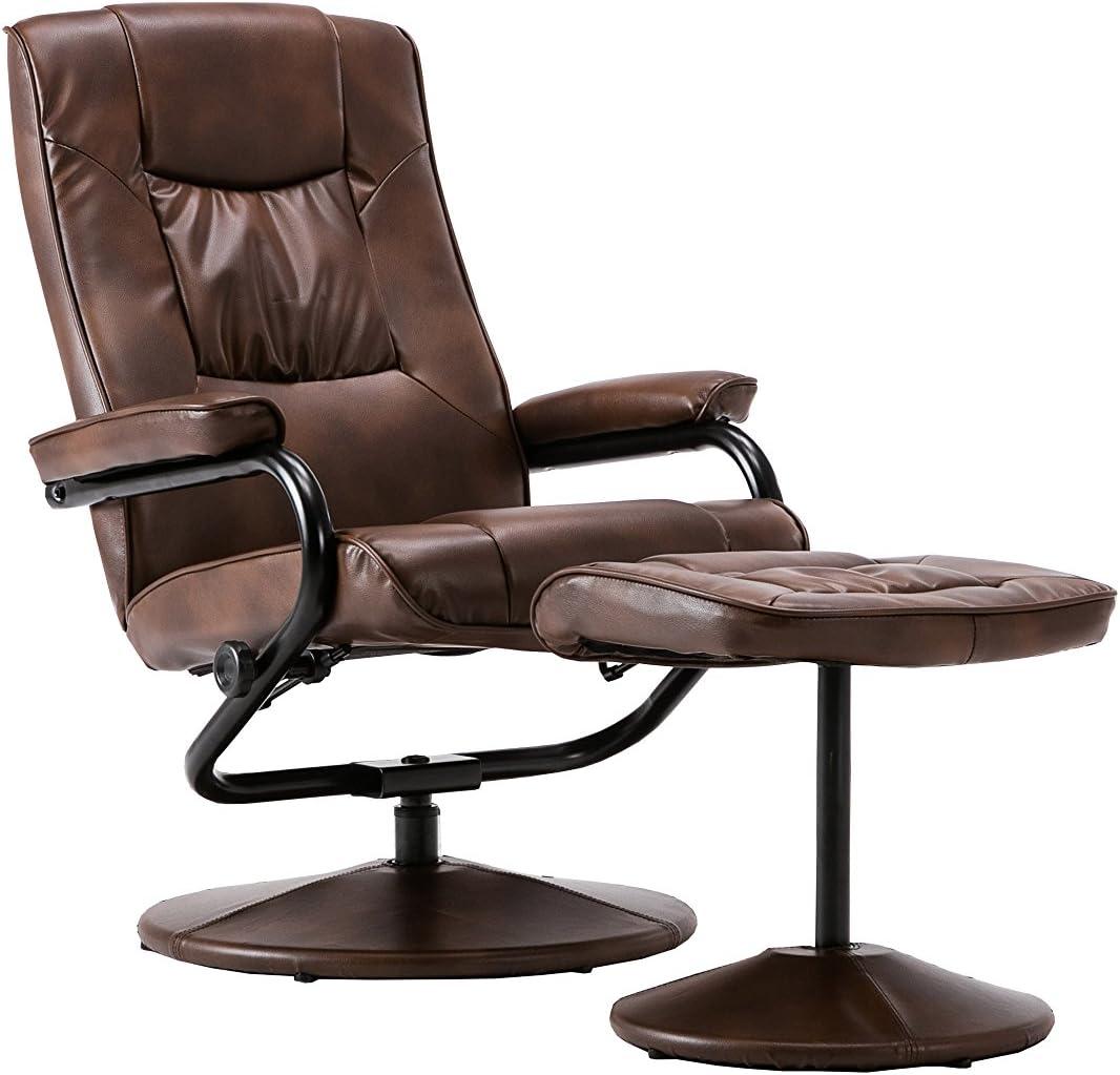 Birlea Memphis Swivel Chair, Faux Leather, Tan, 78 x 68 x 96 cm