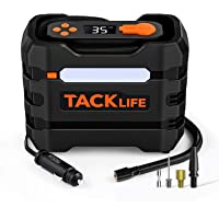 Tacklife 12V Portable Tire Inflator Air Compressor