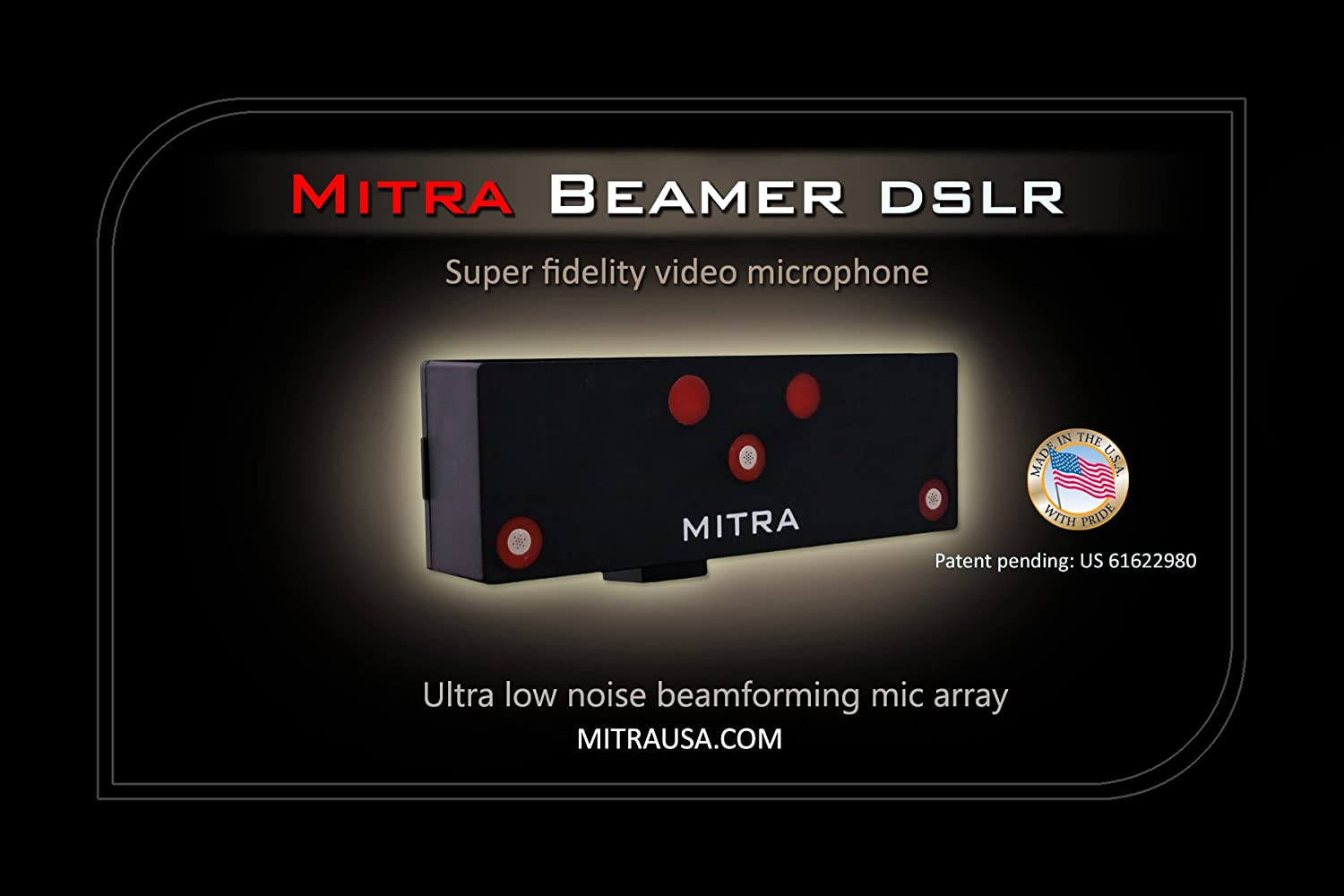 Mitra Beamer Dslr Professional Video Microphones Ultra Low Noise Microphone Camera Photo