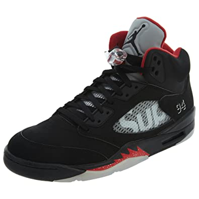 competitive price 9b3a3 fea2b Amazon.com | Air Jordan 5 Retro Supreme