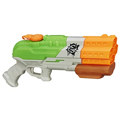 Nerf Super Soaker Zombie Strike Splatterblast Blaster: Toys & Games