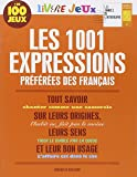 Livre jeux les 1001 expressions préférées des Français