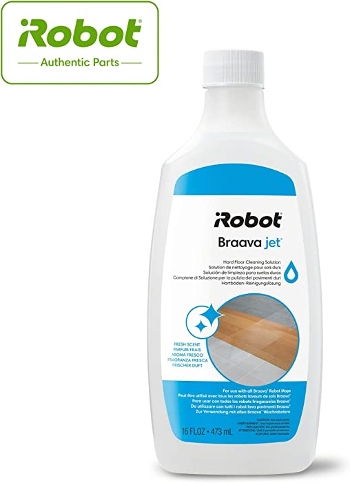 iRobotAuthentic Replacement Parts- Braava Jet Hard Floor Cleaning Solution, Compatible with all Braava Robot Mops