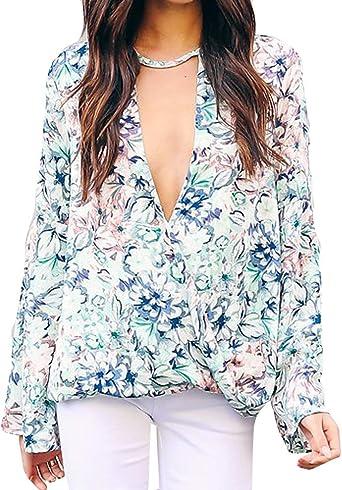 Camisetas Mujer Sexy Ronamick Fiesta Blusa Mujer Tops De Encaje Mujer Fiesta Camisa Estampada (Blanco,M): Amazon.es: Bricolaje y herramientas
