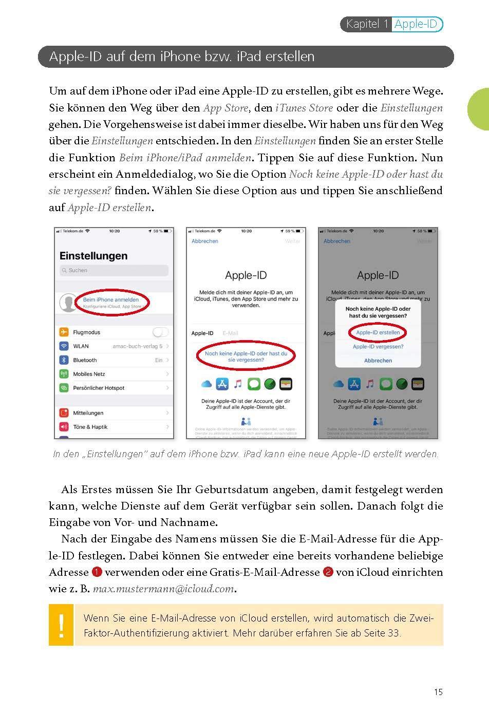 apple id erstellen