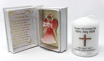 Cellini Schutzengel Mit Gedicht Für Taufe Engel Rosa