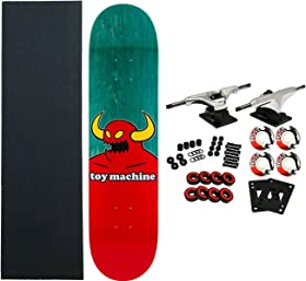 toy machine complete skateboard review