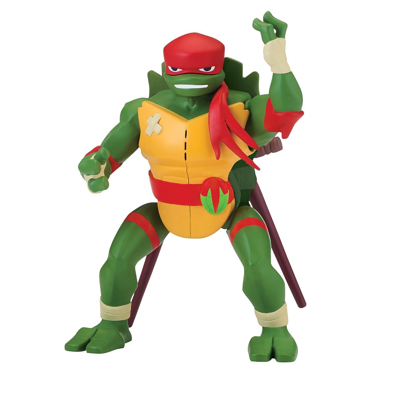 Rise of the Teenage Mutant Ninja Turtles Raphael Side Flip Ninja Attack Deluxe Figure Playmates Toys SG/_B07DNTMY4N/_US