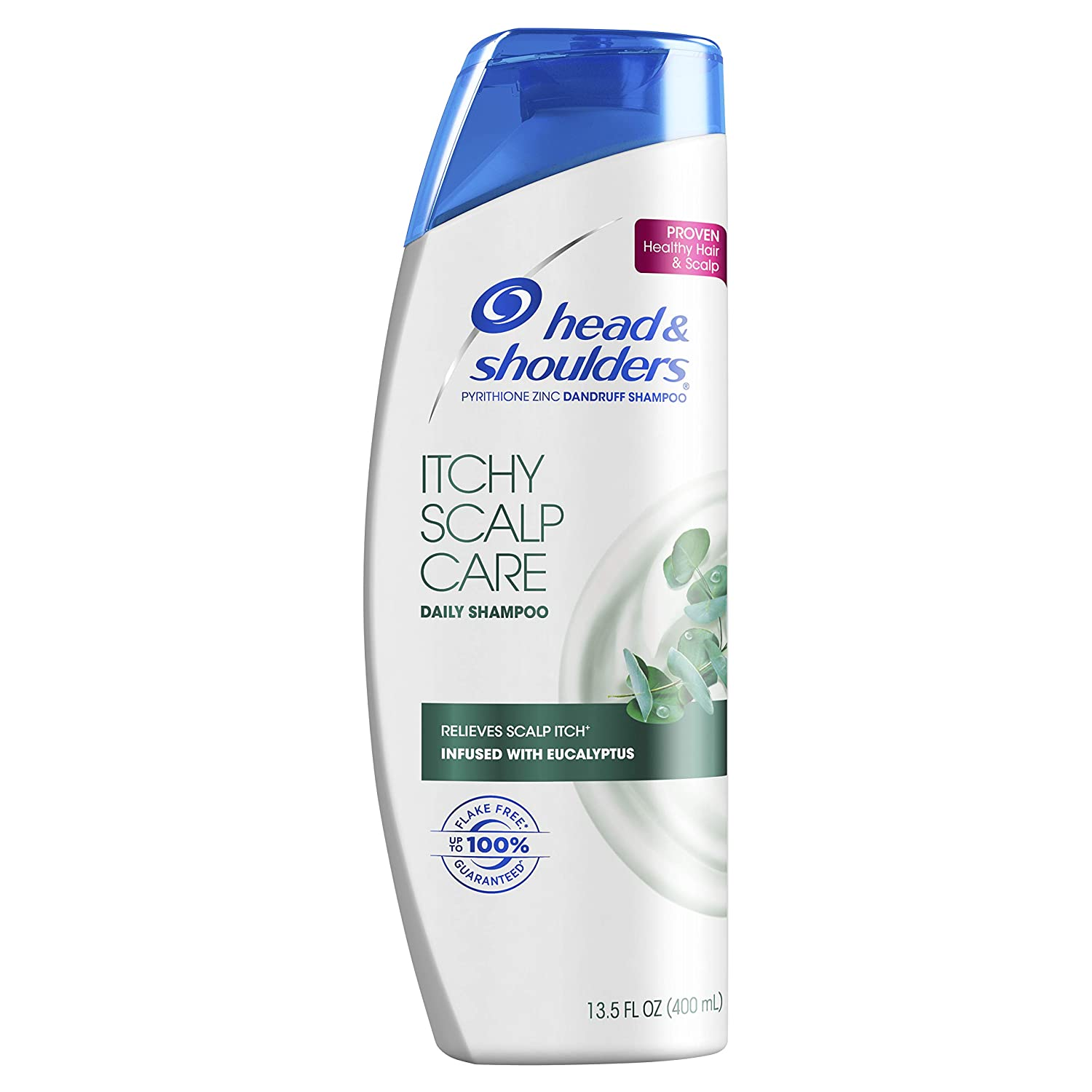 Head and Shoulders, Anti Dandruff Shampoo, Itchy Scalp Care, Daily Use Hair Treatment, 13.5 fl oz, Pack of 2
