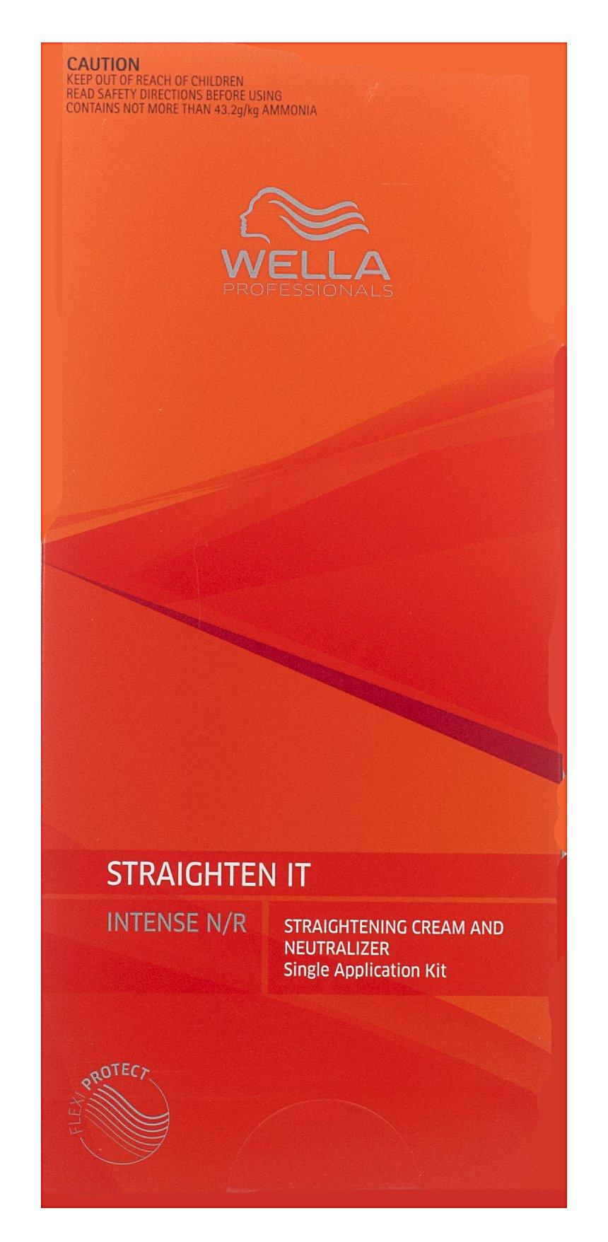 1 BOX OF WELLA STRATE WELLASTRATE INTENSE STRAIGHTENER STRAIGHTENING HAIR CREAM
