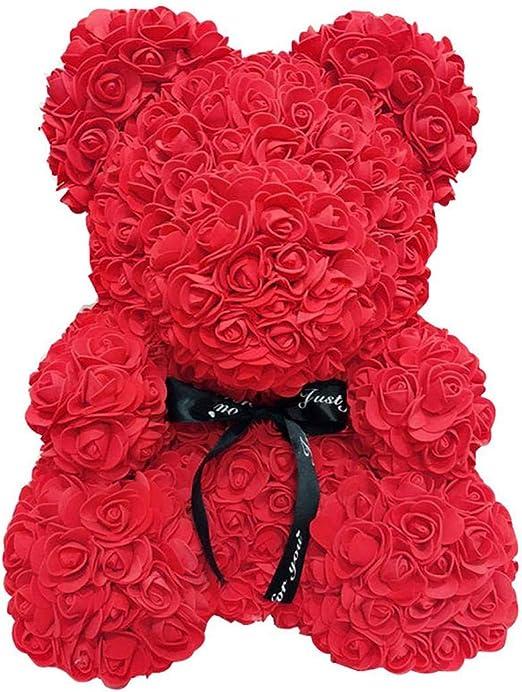 25//40cm Rose Bear Flower Teddy Bear Foam Wedding Birthday Valentine/'s Gift