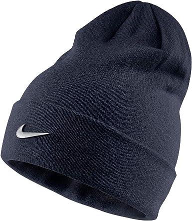 Moral peine Espíritu  Nike - Gorro - para niño Azul azul marino Júnior: Amazon.es: Ropa ...
