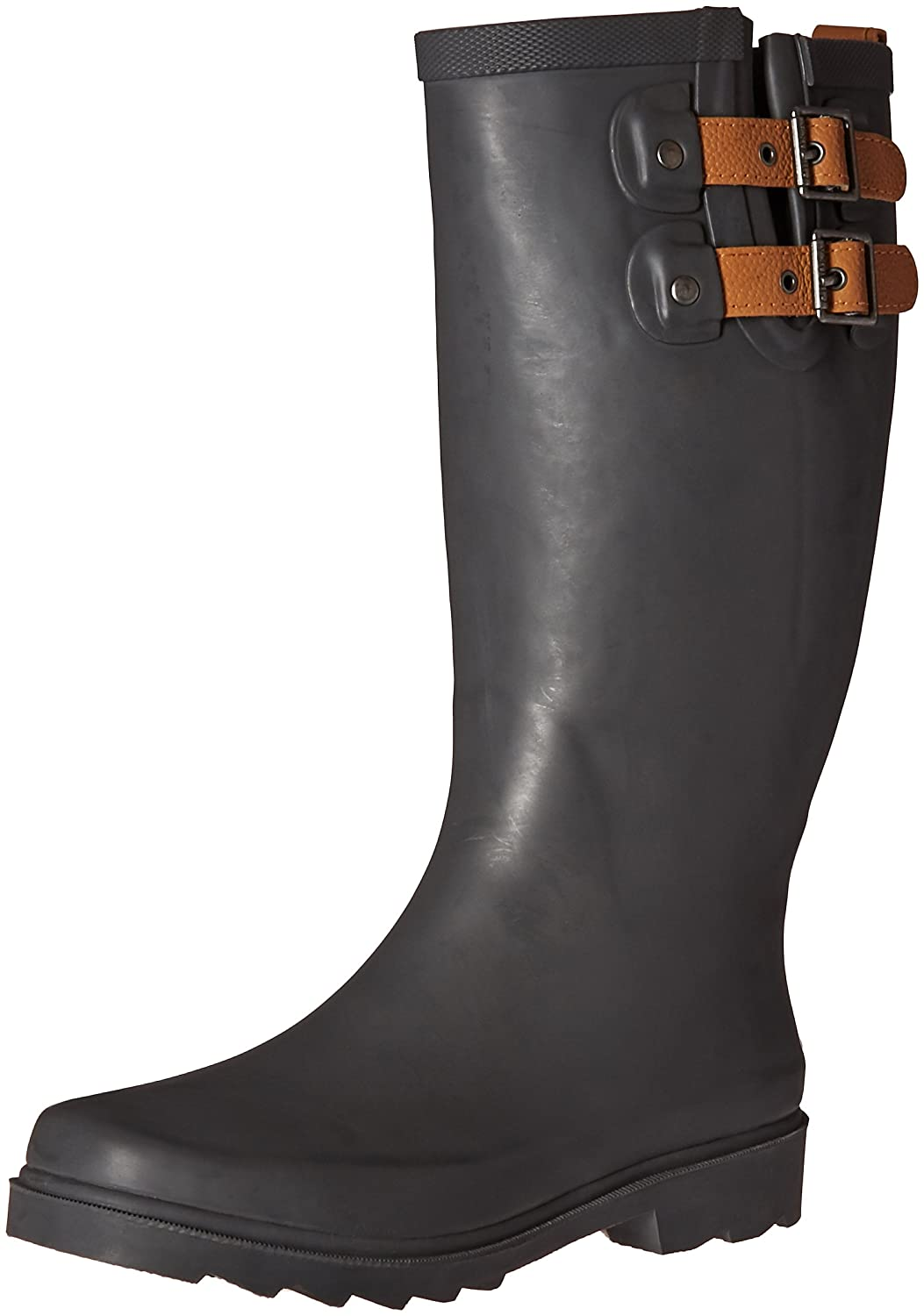 Chooka Women's Tall Rain Boot B01BUDN3B8 8 B(M) US|Dark Grey
