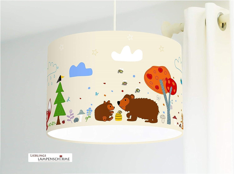 Deckenlampe Kinderzimmer Waldtiere
