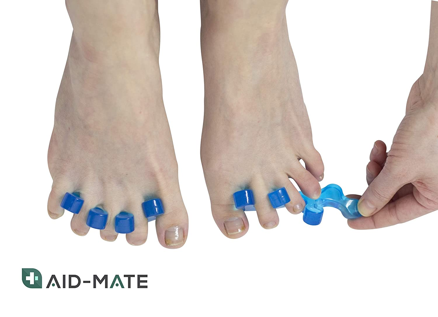 ... Kit | Bunion Splint | Toe Separators | Hammer Toe Straightener | Toe Spacers | Orthopedic Bunion Corrector for Men and Women: Health & Personal Care