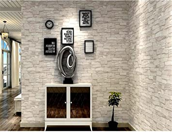 Qxlml Papier Peint Retro Vent Industriel 3d Imitation En Trois