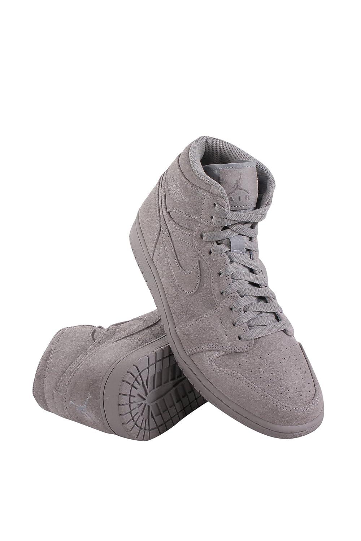 b01nh5hv5o nike air jordan 1 hombre retrò, zapatillas de gris