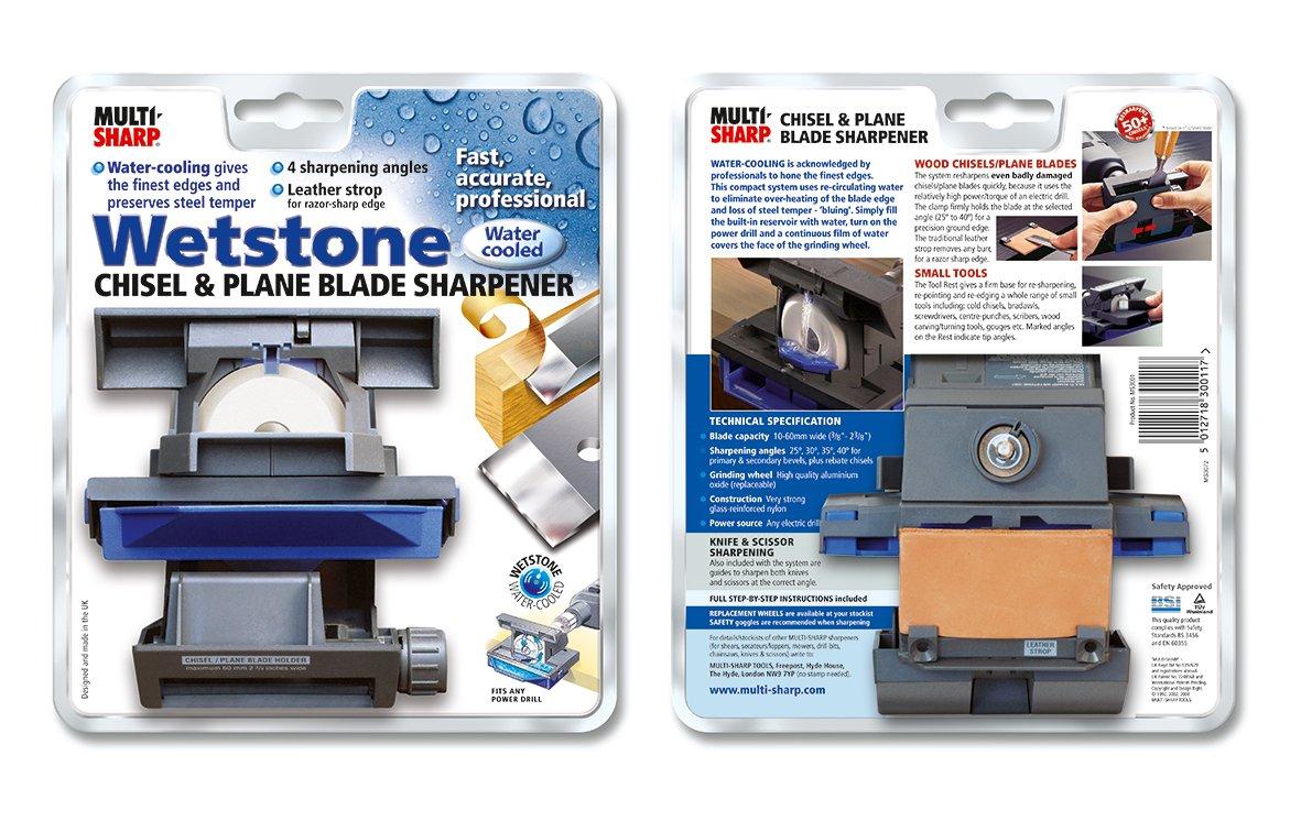 Amazon.com: Multi-Sharp 3001 Wetstone Chisel/Plane Blade Sharpener: Home Improvement