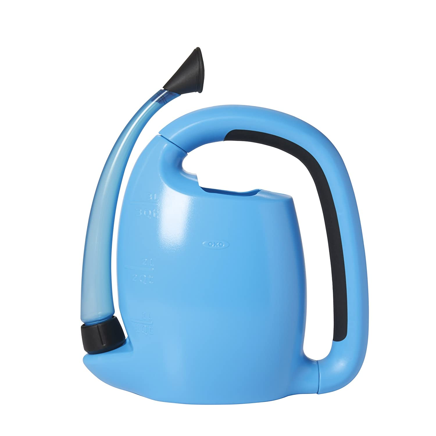 OXO 1070519 Good Grips Outdoor Pour & Store Watering Can, Fuchsia