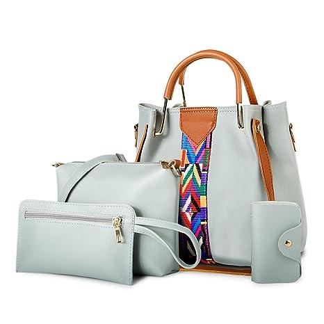 Asge Colore Puro Borse Tote Donna Borse Spalla Moda Shopper Borse Offerta  Camicette Casual Grandi Sacchetto d4730882b1d37