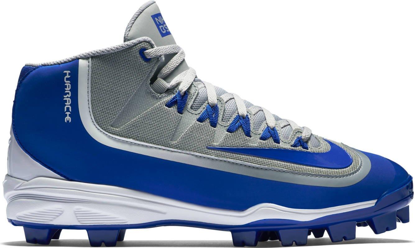Nike Huarache 2KFilth Men's Pro Baseball Cleat B015UU7ZVG 16 M US Wolf Grey/Game Royal/White