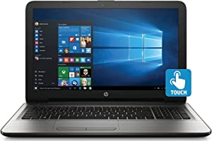 HP 15.6 Inch Touchscreen Laptop Computer (Intel Core i3-6100U 2.3GHZ, 8GB RAM, 1TB Hard Drive, DVD, HDMI, USB 3.0, HD Webcam, Windows 10 Home) (Renewed)