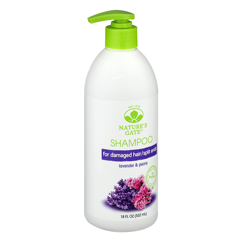 Natures Gate, Shampoo, Replenishing, Lavender + Peony, 18 fl oz ...