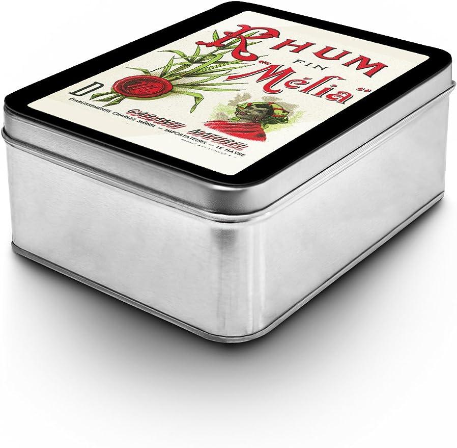 Rhum Fin Melia Garanti Naturel marca etiqueta de Ron (diseño ...