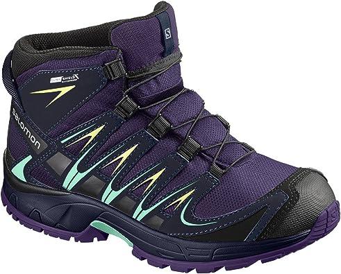Salomon XA Pro 3D Mid CSWP J, Zapatillas de Trail Running Unisex Niños: Amazon.es: Zapatos y complementos