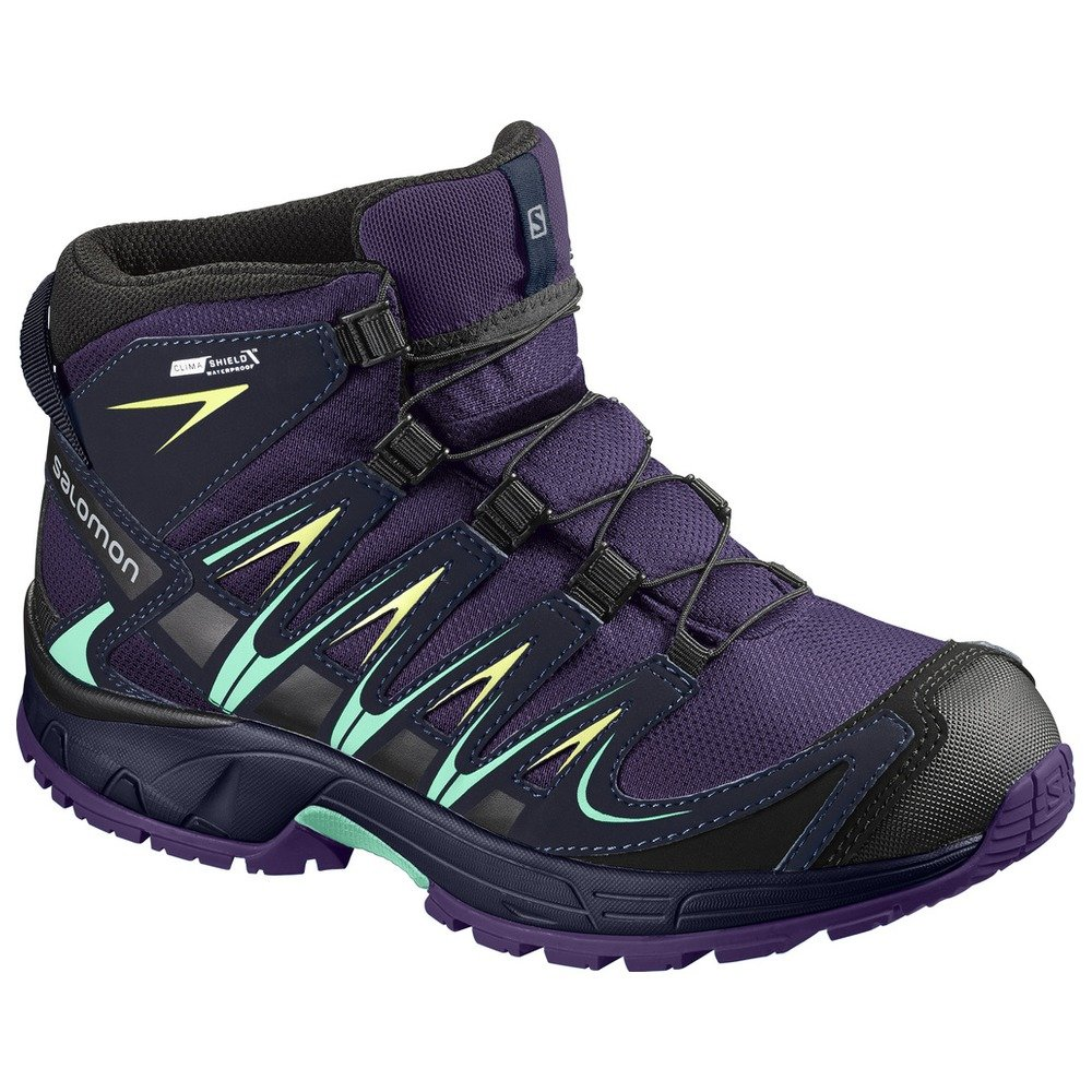 Zapatillas de Senderismo Unisex Ni/ños Salomon XA Pro 3D Mid CSWP J