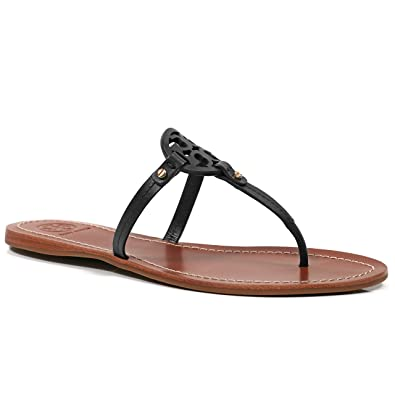 9b499acd6f1 Tory Burch Flip Flop Mini Miller Flat Sandal Leather (7