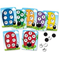 Learning Resources 10 on the Spot! Ten-Frame Game,Multi-color
