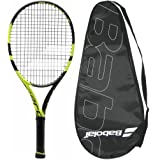 2016 Babolat Pure Aero Junior 26 Tennis Racquet - Srung with Cover Grip Size 4, 4 1/8