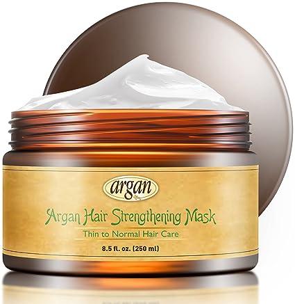 Vitamins – Máscara de fortalecimiento de pelo profundo acondicionador – fino pelo marroquí de aceite de