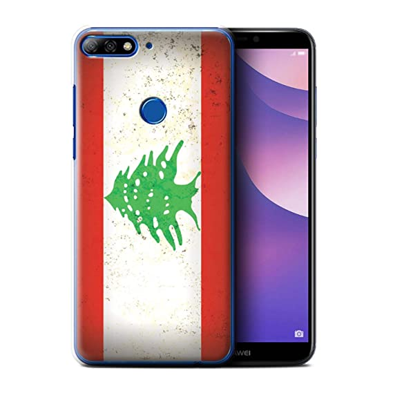 Amazon com: STUFF4 Phone Case/Cover for Huawei Y7/Prime/Pro