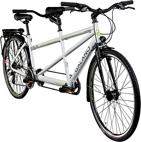 Galano Tandem - Bicicleta de Trekking de 28 Pulgadas (700 c, 21 ...